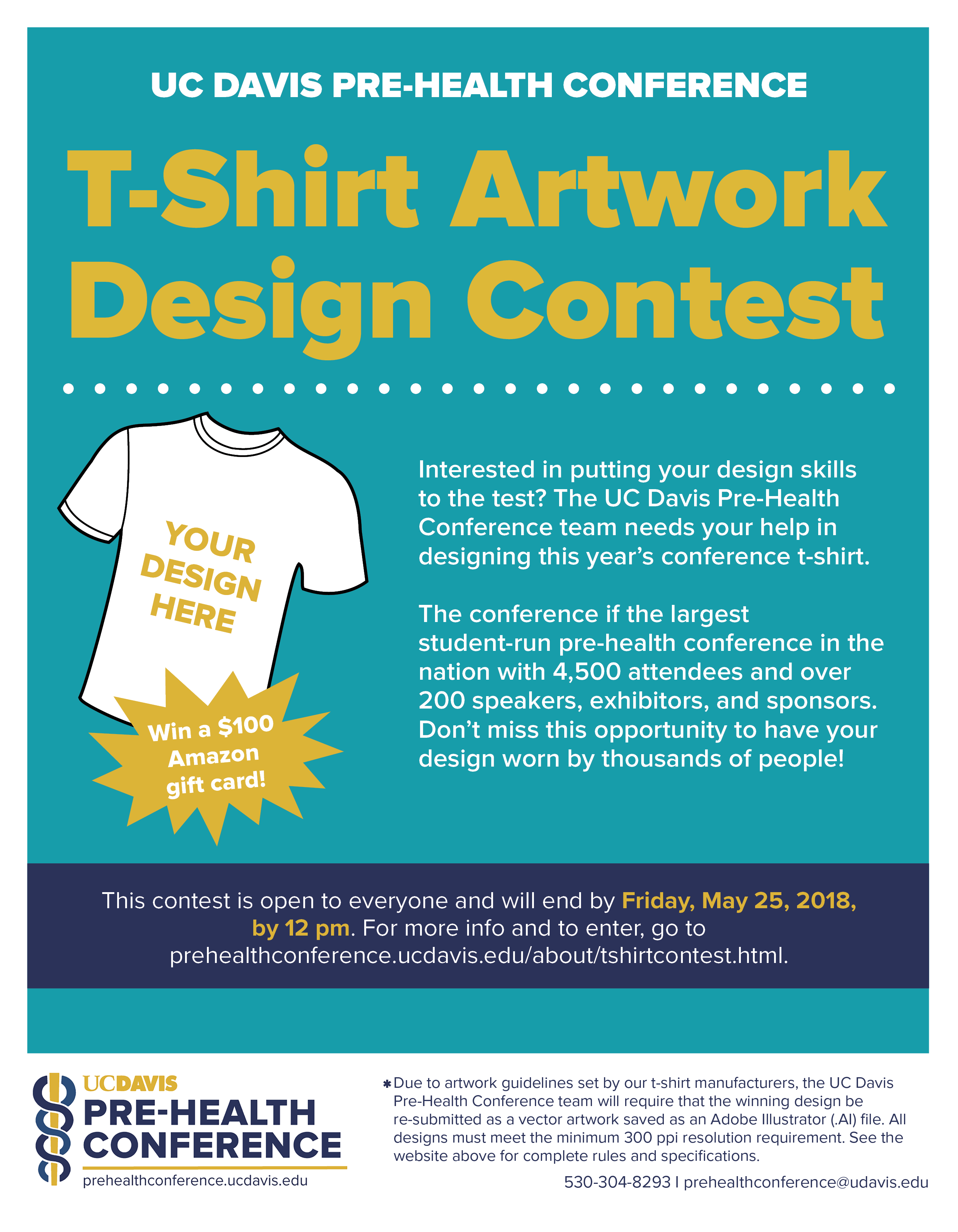 T Shirt Design Contest Prehealthconference